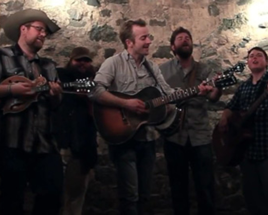 Trampled by Turtles: Erik Berry