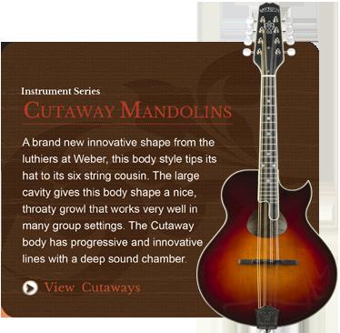 Cutaway Mandolins