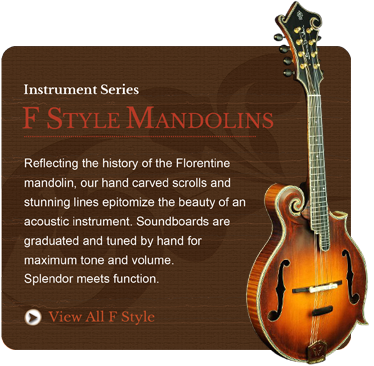 F Style Mandolins