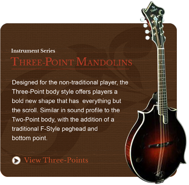 Three-Point Mandolins