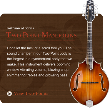Two-Point Mandolins