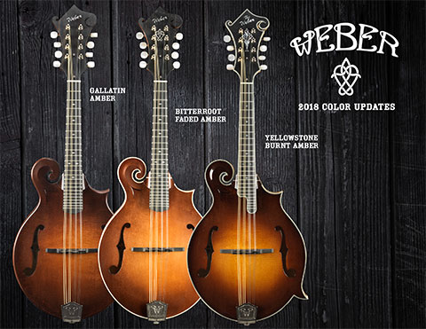 2018 Weber Mandolins Color Update
