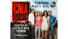 Little Big Town Hosts CMA Music Festival on ABC