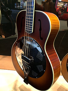 Weber unveils new instruments at the 2014 Summer NAMM show